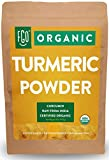 Organic Turmeric Root Powder w/ Curcumin | Lab Tested for Purity | 100% Raw from India | 32oz/907g (2lb) Resealable Kraft Bag | by Feel Good Organics