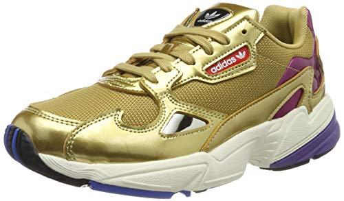 Adidas Falcon W, Zapatillas de Deporte para Mujer, Dorado (Dormet/Dormet/Casbla 000), 39 1/3 EU
