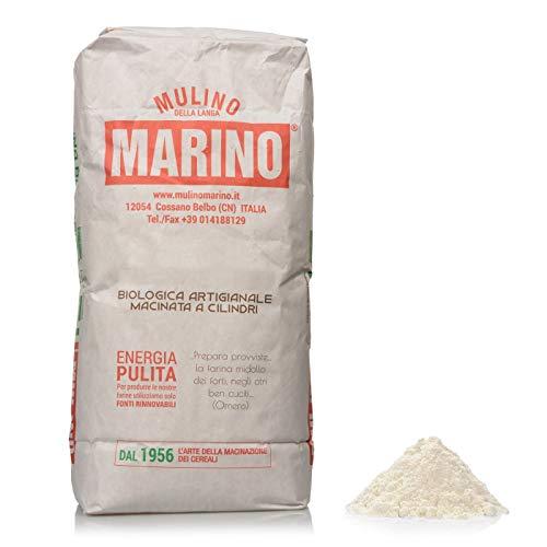 """Mulino Marino - Farina Bio Grano Tenero """"Tipo 0"""" 5 kg - Mulino Marino"""
