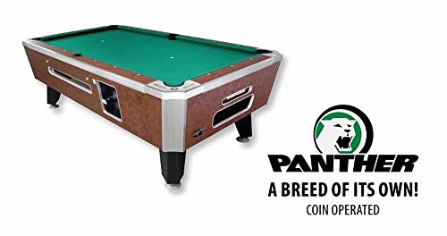 Buy Cheap Valley 93 Coin Op Panther Pool Table - Cheyenne Leather