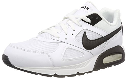 Nike Herren AIR MAX IVO Sneaker, Weiß White Black 111, 46 EU