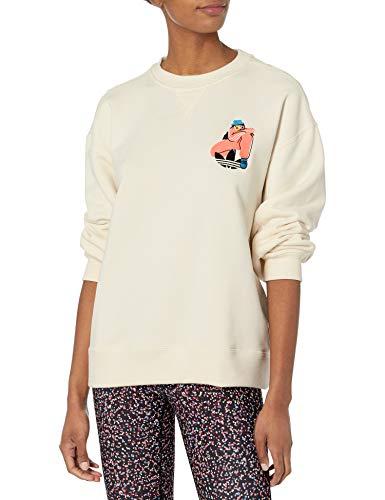 adidas Originals Sweatshirt Sudadera, No teñido, XL para Mujer