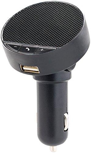 Callstel Auto Freisprechanlage: Kfz-Freisprecheinrichtung, Bluetooth, USB 2,1A, Auto-Pairing, Speaker (Freisprecher)