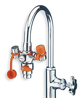 Guardian G1200 Plastic EyeSafe Faucet-Mounted Eyewash with Faucet Control Valve from Guardian