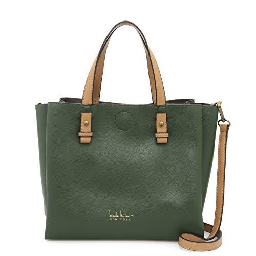 Nicole Miller Handbags Alexa Medium Tote in Forest Green