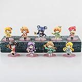 bolin 9pcs / Set Q Versión Figuras De Acción De PVC Love Live! School Idol Project 7cm Recoger Juguetes De Muñeca Modelo