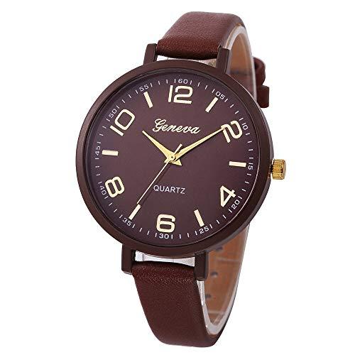 JZDH Relojes para Mujer Relojes para Hombre de Acero Inoxidable para Damas analógicas de Cuarzo Vestido de Pulsera Reloj de Relojes de Relojes Relojes Decorativos Casuales para Niñas Damas
