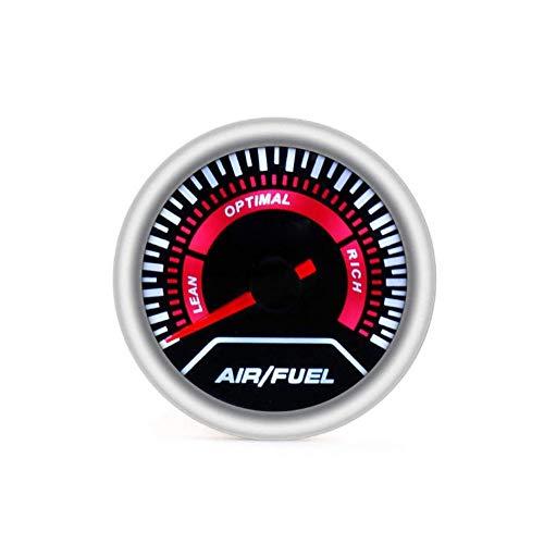 "U/D. 2"" 52mm Autoladedruckanzeige Bar Psi Exhaust Gas Temp Wassertemperatur Öltemperatur Ölpresse Air Fuel Gauge Voltmeter Tachometer (Color : Air Fuel Ratio Gauge, Size : Kostenlos)"