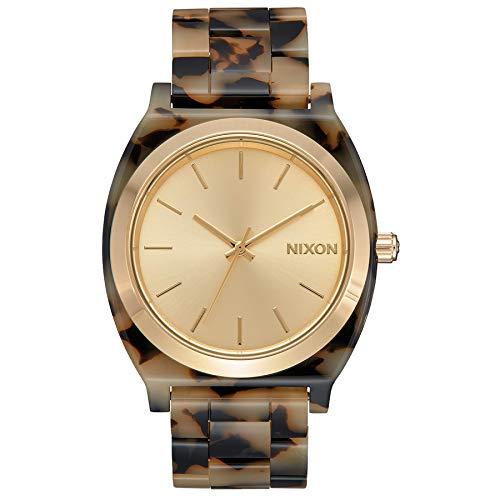 Nixon Reloj Analógico para Mujer de Cuarzo japonés con Correa en plástico A327-3346-00