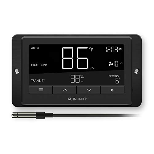 AC Infinity Controller 67, Smart Fan Controller with Temperature, Humidity, and Timer Controls, for CLOUDLINE Airlift CLOUDRAY Cooling and Ventilation
