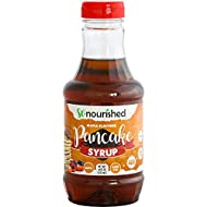 So Nourished Keto Maple Syrup, Low Calorie Pancake Syrup - 16 FL OZ - 1g Net Carb, Sugar Free Syrup, Made in USA, Low Calorie, Low Carb, Gluten-Free, Vegan
