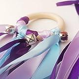 Cometa de mano Waldorf - Cinta de viento Waldorf - Winter colors
