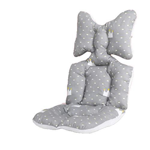 Kinderwagen Einlage,Universal Sitzauflage für Kinderwagen,Atmungsaktive Sitzeinlage,Atmungsaktive Sitzeinlage Kinderwagen Sitzauflage,Baumwolle Atmungsaktiv für Kinderwagen Buggy