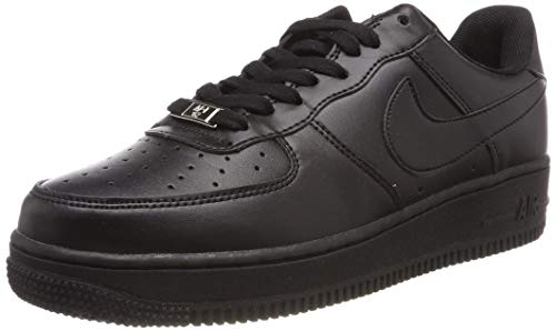 Nike Nike Herren AIR FORCE 1 '07' Low-Top, Schwarz Black Black 001, 38.5 EU