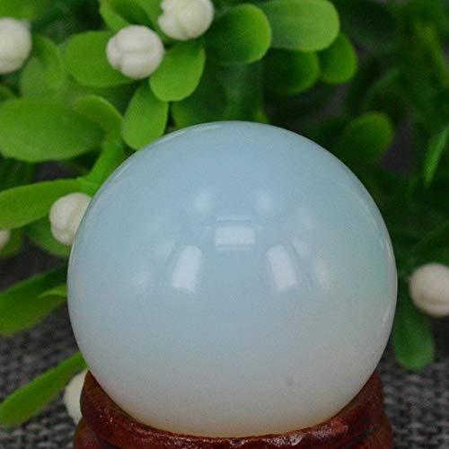 KAPU (1.2') 30Mm Opalite Sphere Crystal Globe Ball Chakra Healing Reiki Stone Carving Crafts,Minerals