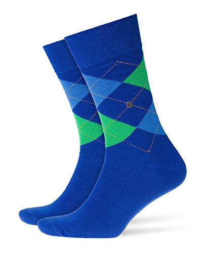Burlington Herren King M SO Socken, Blickdicht, Blau (Royal Blue 6052), 40-46