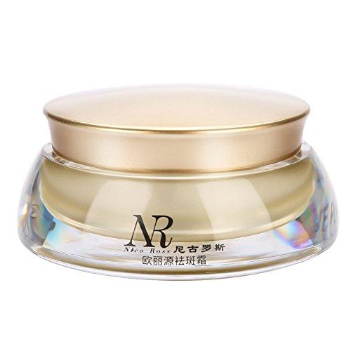 Crema facial hidratante, 30 g/botella Excelente crema para eliminar pecas Crema aclaradora Cuidado de la piel Crema facial contra las arrugas Antiedad Efecto relleno hidratación intensiva