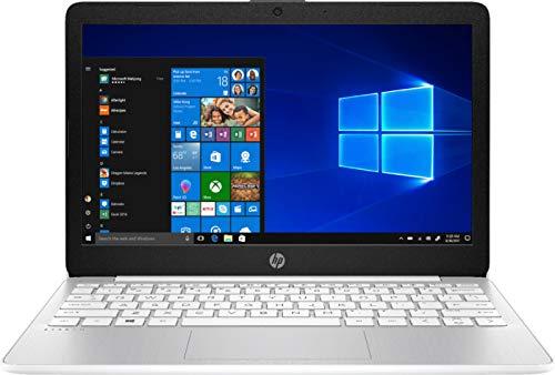 2020 HP Stream 11.6' HD (1366 x 768) Laptop PC, Intel Celeron N4000 Dual-Core Processor, 4GB DDR4 Memory, 64GB eMMC, HDMI, WiFi, Bluetooth, Windows 10 S, 1 Year Microsoft 365, Diamond White
