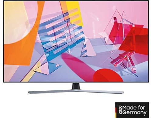 Samsung GQ-43Q64T QLED-Fernseher, dunkelgrau, UltraHD/4K, Triple Tuner, SmartTV