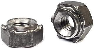 Carton: 5,000 pcs M6-1.0 Hex Weld Nuts//3 Projections /& Center Pilot Ring//Steel//Plain//DIN929
