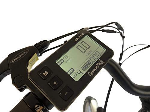 41RSqGeQ+HL - GermanXia E-Bike E-Faltrad/Klapprad Mobilemaster Touring CH 7G Shimano 20 Zoll mit Drehmoment-/Bewegungssensoren, eTurbo 250 Watt HR-Antrieb, bis zu 156 km Reichweite nach StVZO