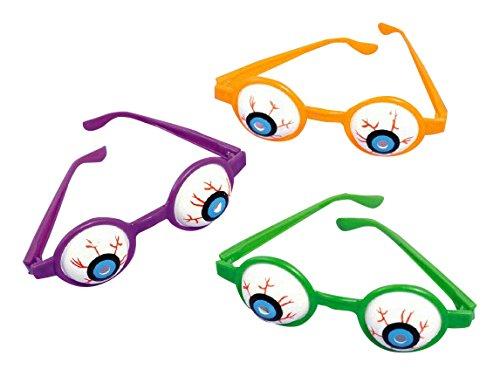 Halloween Plastic Eyeball Glasses