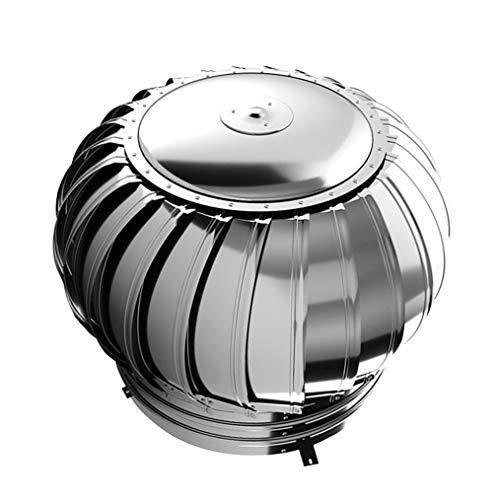 LTLCBB Sombrero de Chimenea Extractor de Humo Giratorio de Viento para chimeneas Estufa de Acero Inoxidable, Base Cuadrada, Todas Las Dimensiones,110mm