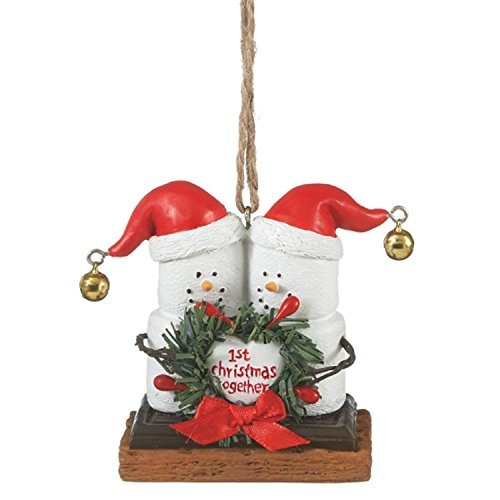 S'Mores Our 1st Christmas Together Christmas Ornament by Midwest
