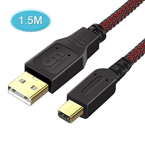 6amLifestyle 3ds Ladekabel,USB-Ladekabel Ladegerät Kabel für Nintendo DSi/DSi XL/2DS/2DS/3DS/3DS XL,1.5m dsi Charger Cable