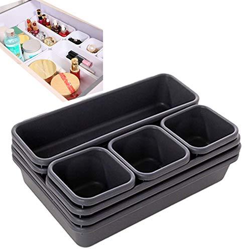 Boîte de Rangement pour tiroir Séparation - 8PCS Organisateurs de tiroir Peu Profond Séparer Combinaison Libre Petit boîtier de Rangement