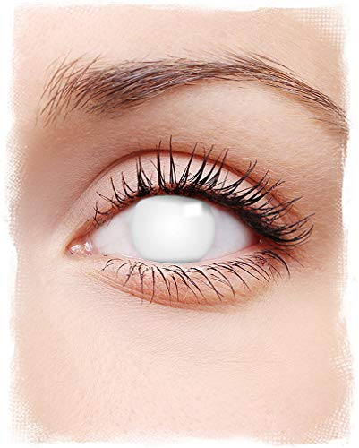 Horror-Shop Kontaktlinsen Shocking White