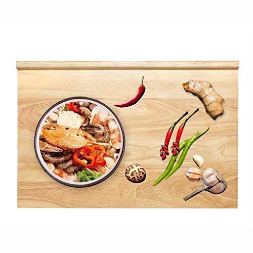 XURURR Bamboe Snijplank Houten Mes Board Rechthoekig Dikke Vlees Plantaardige Fruit Koekje Snijplank