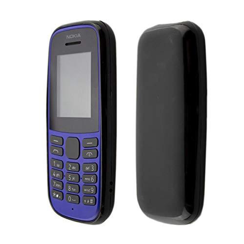 caseroxx TPU-Hülle für Nokia 105 (2019) 4th Edition, Handy Hülle Tasche (TPU-Hülle in schwarz)