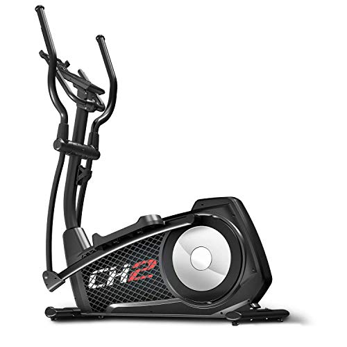 Sportstech CX2 Crosstrainer for at Home | with Electric Generator | German Quality Company | Interactive Video Events & Multiplayer App | Elliptical Trainer, Ergometer + Console & 27 kg Flywheel Mass