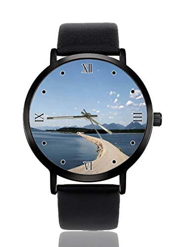 Reloj de Pulsera para Hombre con diseño de Columbia Británica de Canadá...