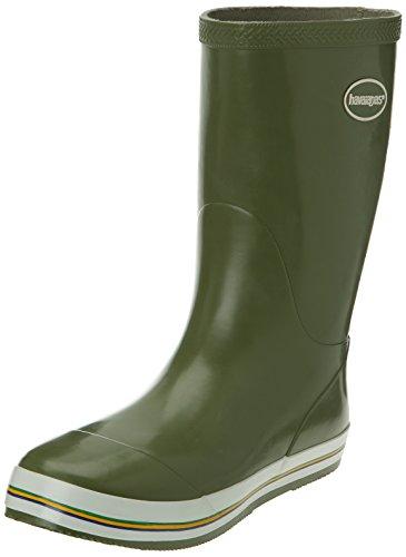 Havaianas Aqua Rain Boots, Bottes de pluie Femme, Vert 1154, 36 EU