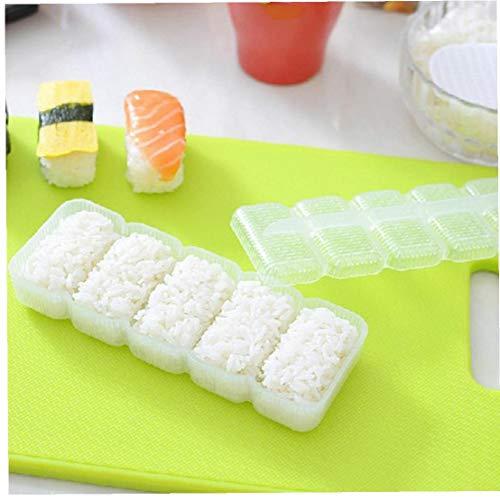 AYRSJCL Japón Nigiri Sushi Molde Bola arroz 5 Rolls