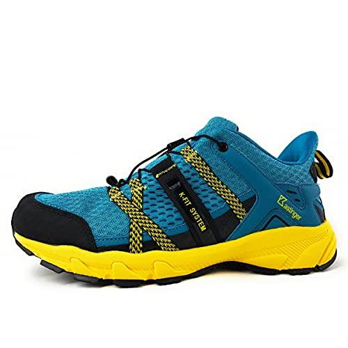 Kastinger Trailrunner Nestar - Zapatillas deportivas para hombre, color azul petróleo, petróleo, 46 EU