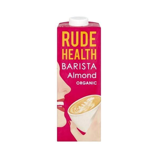 Rude Health Barista Organic & Vegan Friendly Almond Milk Multi-Pack (6x1L)