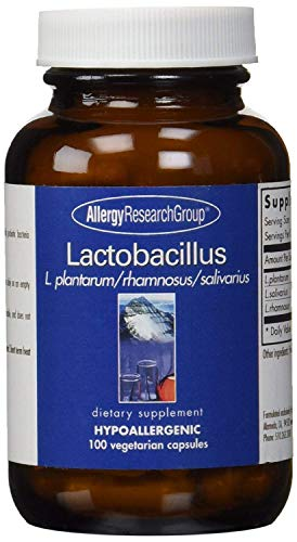 Allergy Research Group Lactobacillus 100 Vegetarian Capsules