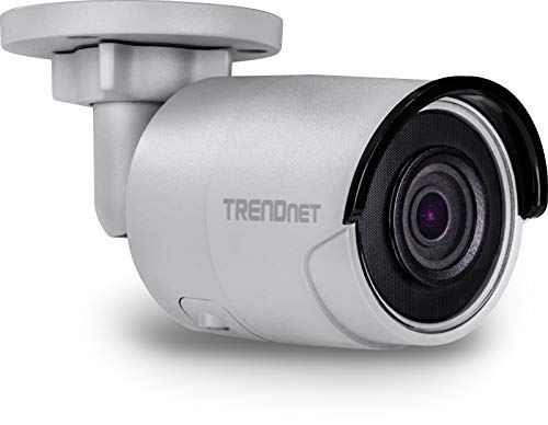 TRENDnet Indoor/Outdoor 4 megapixel HD PoE stiftbehuizing dag/nacht netwerk camera, digitale WDR, 2688 x 1520p, Smart IR, IP66 gecertificeerde behuizing, tot 30 meter nachtzicht, ONVIF, △6, TV-IP314PI