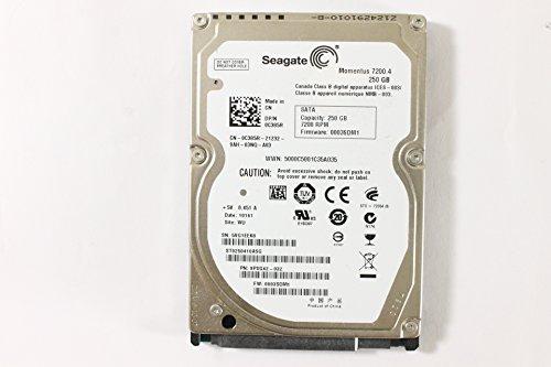 Dell c385r ST9250410ASG 6,3cm SATA 250GB 7200Seagate Laptop Festplatte Latitude E4310
