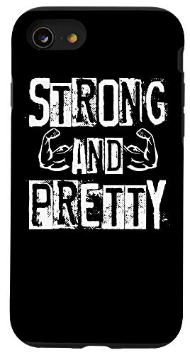 Workout Quotes And Sayings Co Iphone Se 2020 7 8 Strong And Pretty Gym Workout Fitness Quote Motivational Case Dailymail