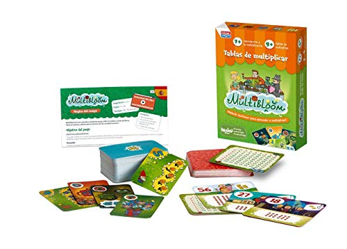 Falomir- Multibloom Juego de Mesa Educativo, Multicolor (30013)