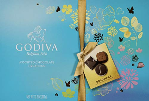 Godiva Goldmark Collection Spring Easter Assorted Chocolate Creations, 10.8 OZ