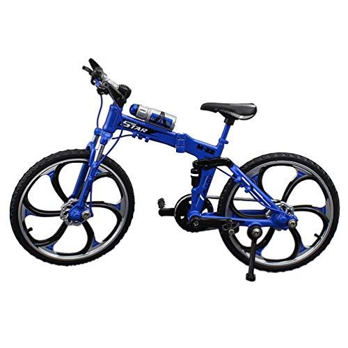 TOYANDONA 1:10 Mini Artesanía de Aleación Modelo de Bicicleta de Montar Modelo...