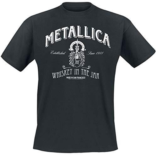 Metallica Whiskey In The Jar Männer T-Shirt schwarz L 100% Baumwolle Undefiniert Band-Merch, Bands