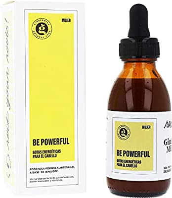 Ginger Root Extract | Growth Stimulating Drops and Hair Loss Control | Energizing Hair Elixir | Be Powerful