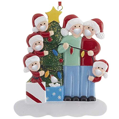 DIY Personalized Home Decorations 2020 Christmas Holiday Decorations Mini Christmas Tree Ornaments