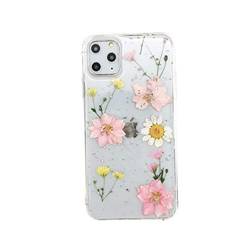 Jacyren Funda para iPhone 11, iPhone 11 Pro Max, funda para teléfono móvil, diseño de flores secas, ultrafina, de silicona TPU, carcasa para iPhone 11 Pro Max, color, talla iPhone 11 6,1 Zoll